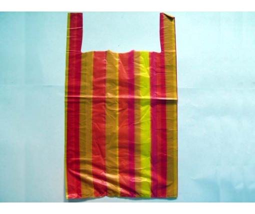 Пакет майка полиэтиленовая Полоса (50х80) №5 (100 шт)