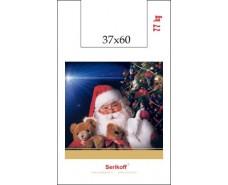 Полиэтиленовый Пакет (37+16*60\35мк) Дед Мороз Джерела (100 шт)
