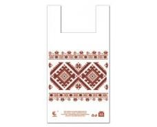 Пакет майка полиэтиленовая (тип FA)  30*55 Вышиванка ''Комсерв'' (100 шт)