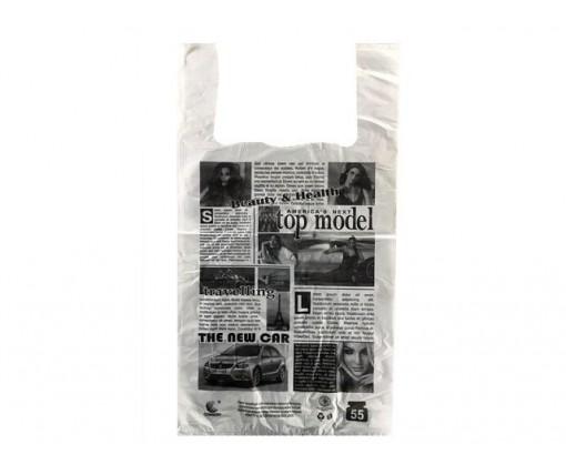 Пакет майка полиэтиленовая (тип FA)  30*55 Газета ''Комсерв'' (100 шт)