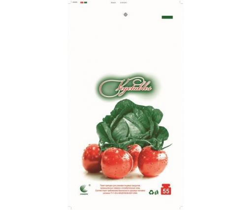 Пакет майка полиэтиленовая (тип FA)  30*55 Овощи  ''Комсерв'' (100 шт)