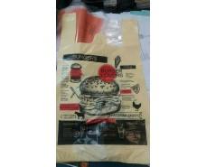 Пакет майка полиэтиленовая (тип FA) 320(2*80)*550/0.013  BURGERS Леоми (100 шт)