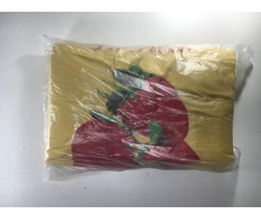 Пакет майка полиэтиленовая (тип FA)(30+2х8)х55 Три клубники  Кривой Рог (100 шт)