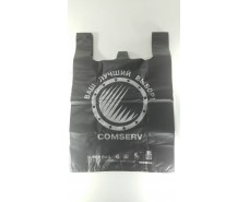 "Пакет 40х60 ""БМВ"" Сomserv  черный (100 шт)"