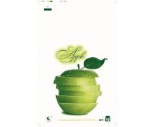 """Пакеты Майка п\э (29*47) Комсерв  """"Зеленое яблоко"""" (250 шт)"""