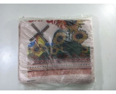 "Пакеты ""майка""(28+2*7,5х49) с  изображением ""Подсолнух"" (100 шт)"