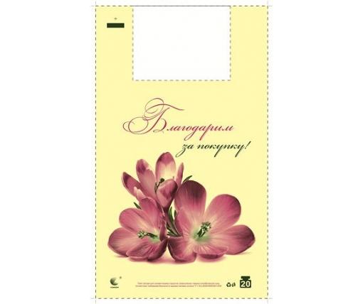 "Пакет Майка п\э (30х50) ""Комсерв"" Фиалка (250 шт)"