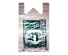 Пакет Майка п\э(30+2х6)х50) Доллар Кривой Рог (250 шт)
