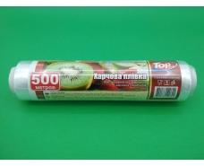 Пленка стрейч пищевая  ПЕ 500м\30см 7мкр (POL) ТОР Pack (1 рул)