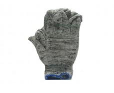 Хозяйственные перчатки плотные Х/Б серые (10кл/3н) (10 пар)