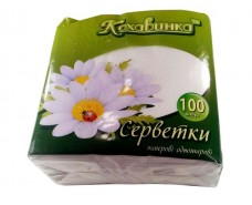 Салфетка одноразовая 100шт\1слой