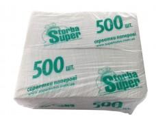 Салфетка для сервировки 500лист ST однотонная (1 пач)