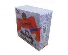 Салфетка бумажная  500лист Премьер НГ Рисунок (1 пач)