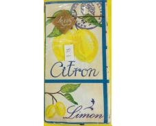 Праздничная салфетка (ЗЗхЗЗ, 10шт) Luxy MINI Свежесть лимона (987) (1 пачка)