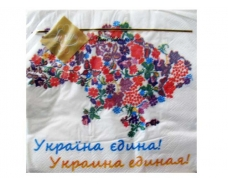 Салфетка для декора (ЗЗхЗЗ, 20шт) Luxy  Украина единая (201) (1 пач)