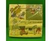 Новогодняя салфетка (ЗЗхЗЗ, 20шт) LuxyНГ Новогодние мечты (844) (1 пач)