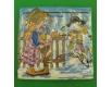 Новогодняя салфетка (ЗЗхЗЗ, 20шт) LuxyНГ Новогодний поцелуй (851) (1 пач)