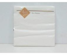 Дизайнерская салфетка (ЗЗхЗЗ, 20шт) Luxy Белый(3-2) (1 пач)