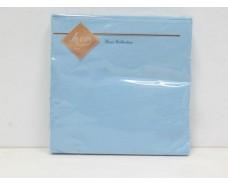 Салфетка декор (ЗЗхЗЗ, 20шт) Luxy Голубая (4-3) (1 пач)