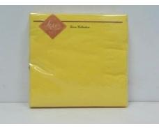 Красивая салфетка (ЗЗхЗЗ, 20шт) Luxy Желтый (3-9) (1 пач)