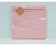 Дизайнерская салфетка (ЗЗхЗЗ, 20шт) Luxy Розовая (3-10) (1 пач)