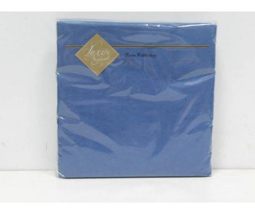 Красивая салфетка (ЗЗхЗЗ, 20шт) Luxy Синий (3-6) (1 пач)