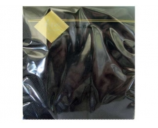 Салфетка декор (ЗЗхЗЗ, 20шт) Luxy Черная (1 пачка)