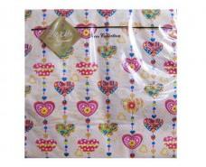 Свадебная салфетка (ЗЗхЗЗ, 20шт) Luxy  Сладкое сердце (308) (1 пач)