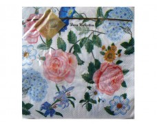 Красивая салфетка (ЗЗхЗЗ, 20шт) Luxy  Английская роза    (104) (1 пач)
