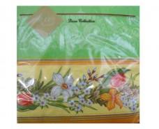 Дизайнерская салфетка (ЗЗхЗЗ, 20шт) Luxy  Весенние цветы (903) (1 пач)