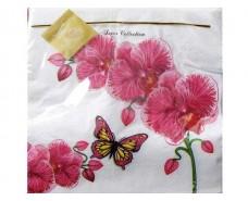Дизайнерская салфетка (ЗЗхЗЗ, 20шт) Luxy  Классическая орхидея (051) (1 пач)