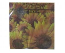 Красивая салфетка (ЗЗхЗЗ, 20шт) Luxy  Поле подсолнухов  (509) (1 пач)