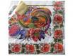 Красивая салфетка (ЗЗхЗЗ, 20шт) Luxy  Роспись и петушки (028) (1 пач)