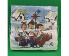 Дизайнерская салфетка (ЗЗхЗЗ, 20шт)  La FleurНГ Рождественские гости (121) (1 пач)