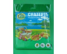 Скатерть (120x200)  Супер торба  зеленая (1 шт)