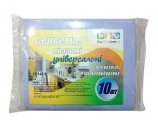 Вискозная салфетка (10шт) Для Пыли (1 пач)