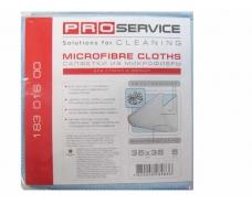 Салфетки  PRO микрофибра для стекла 5 шт (1 пач)
