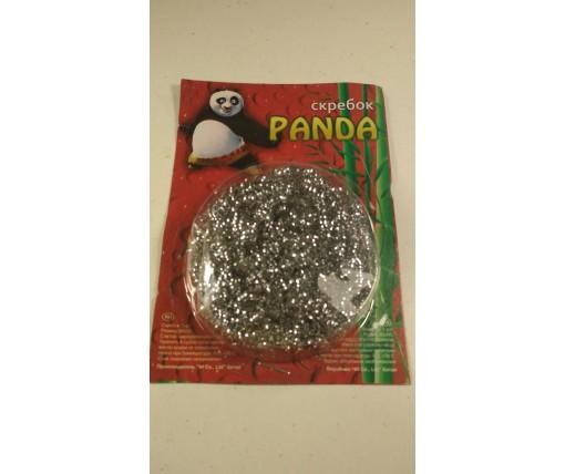 """Мочалка железная (а1) """"Панда"""" 07гр (1 пач)"""