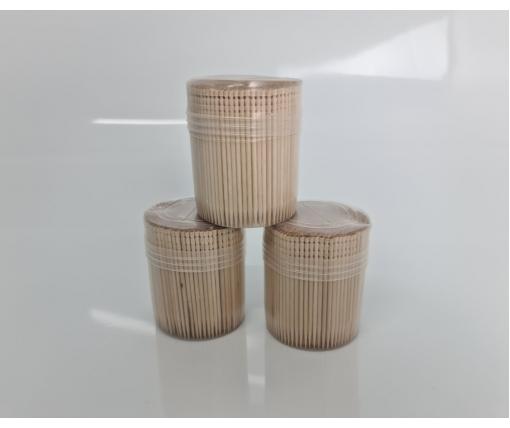 Зубочистка деревянная (500шт) в мягкой упаковке (а20) (1 пачка)