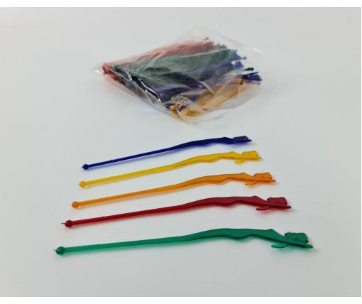 """Мешалки пластиковые для коктейтей """"Афродита"""" 19,0см (100шт) Юнита (1 пачка)"""