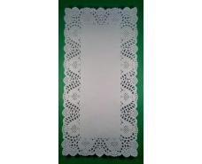 Салфетки ажурные  прямоугольные 17*34 (100шт) (1 пач)