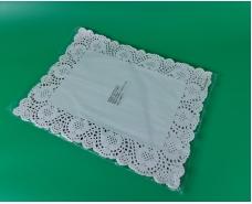 Салфетки ажурные  прямоугольные 30х40 (100шт) (1 пач)