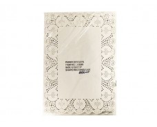 Салфетка ажурная  прямоугольная 32х45(200шт) (1 пач)
