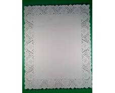 Салфетки ажурные  прямоугольные 40*50 (100шт) (1 пач)