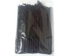 Трубочка Махито черная d3-21см    (500 шт)