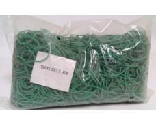 "Резинки для денег  №100 ( зелёная ) *1,5мм  1 кг ""Plast"" (1 пач)"