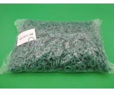 "Резинки для вязания зелени  №15 ( зеленая )*1,5мм  1 кг ""Plast"" (1 пач)"