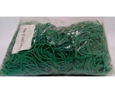 Резинка для банкнот №70 ( зеленая )*1,5мм  1 кг