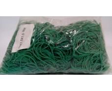 "Резинка для банкнот №70 ( зеленая )*1,5мм  1 кг ""Plast"" (1 пач)"