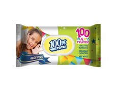 Влажная салфетка освежающая 100шт